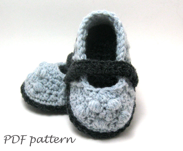 PDF Crochet PATTERN - Lilly Mary Jane Slippers Crochet ...